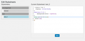 Code Snippet: Edit Oxygen Stylesheets Outside Builder