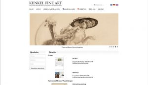 Kunkel Fine Art - Relaunch